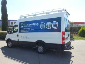 covering utilitaire alu vigouroux