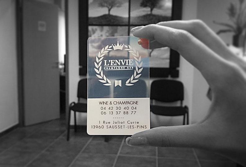 Carte De Visite Promotion