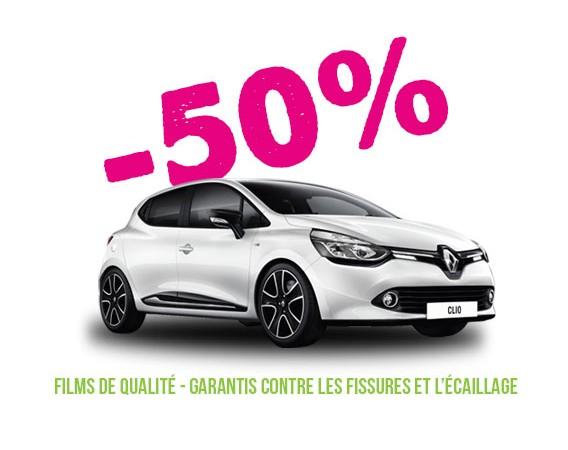 Profitez de notre offre de vitres teintées à -50%